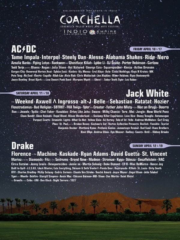 coachella flyer