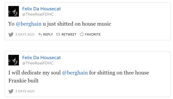 Felix Da Housecat Tweets