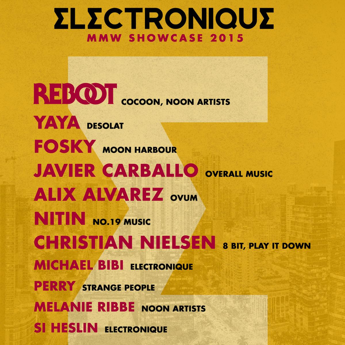 Electronique Showcase featured