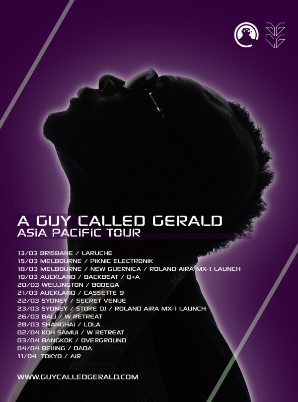 Guy Called Gerald Asia Tour