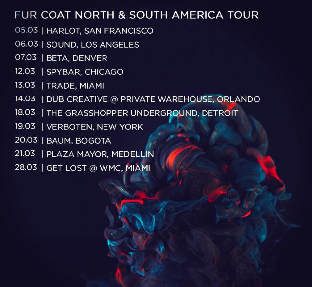 Fur Coat - N. + S. America Tour