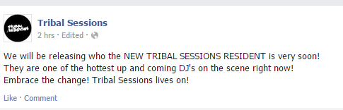 tribal session new resident