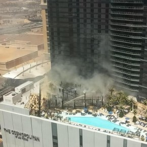 cosmo roof fire