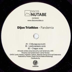 "Vinyl Revivalists, Discos Nutabe, Releases ""Dijon Triathalon – Pandemia 12″ EP"""