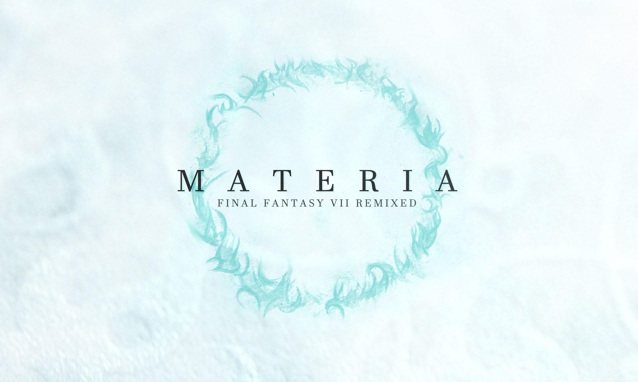 MATERIA Final Fantasy VII Remixed - design spread