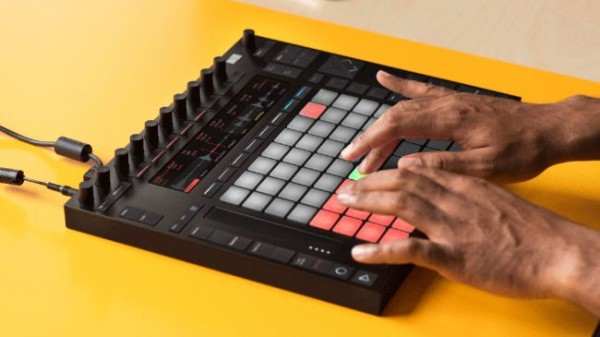 ableton push 2 angled