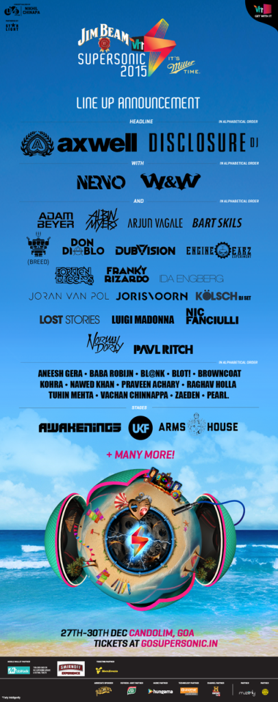 VH1 Festival Flyer
