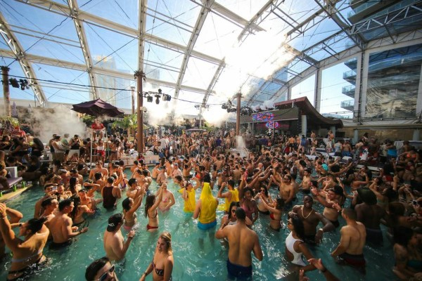 Marquee pool dome