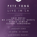 Pete Tong and BBC Radio 1 Take Over Hollywood Rooftop on Jan 22nd
