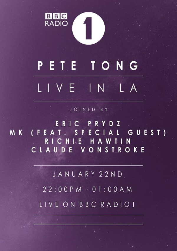 Pete Tong And Bbc Radio 1 Take Over Hollywood Rooftop On