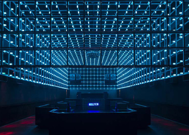 New Brazilian Nightclub Has Movement Sensitive LED Light InstallationNew Brazilian Nightclub Has Movement Sensitive LED Light  . Nightclub Lighting Design Installation. Home Design Ideas