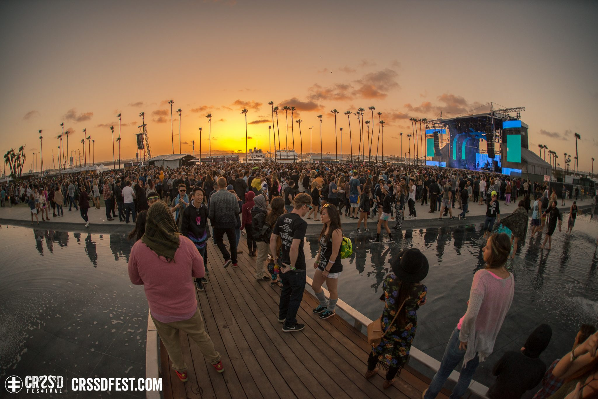 CRSSD Sunset magic - Photo by Glen Silva