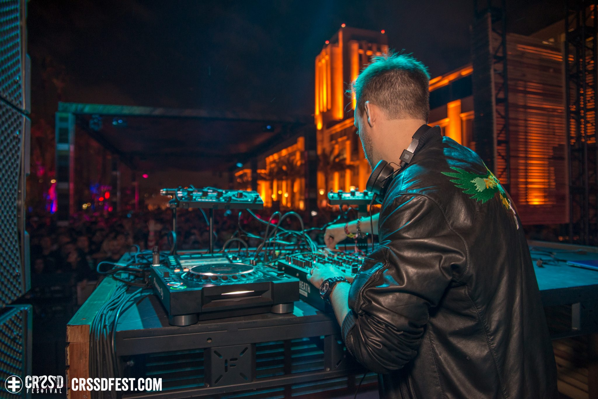 Maceo Plex closing out The City Steps - Photo by Glen Silva