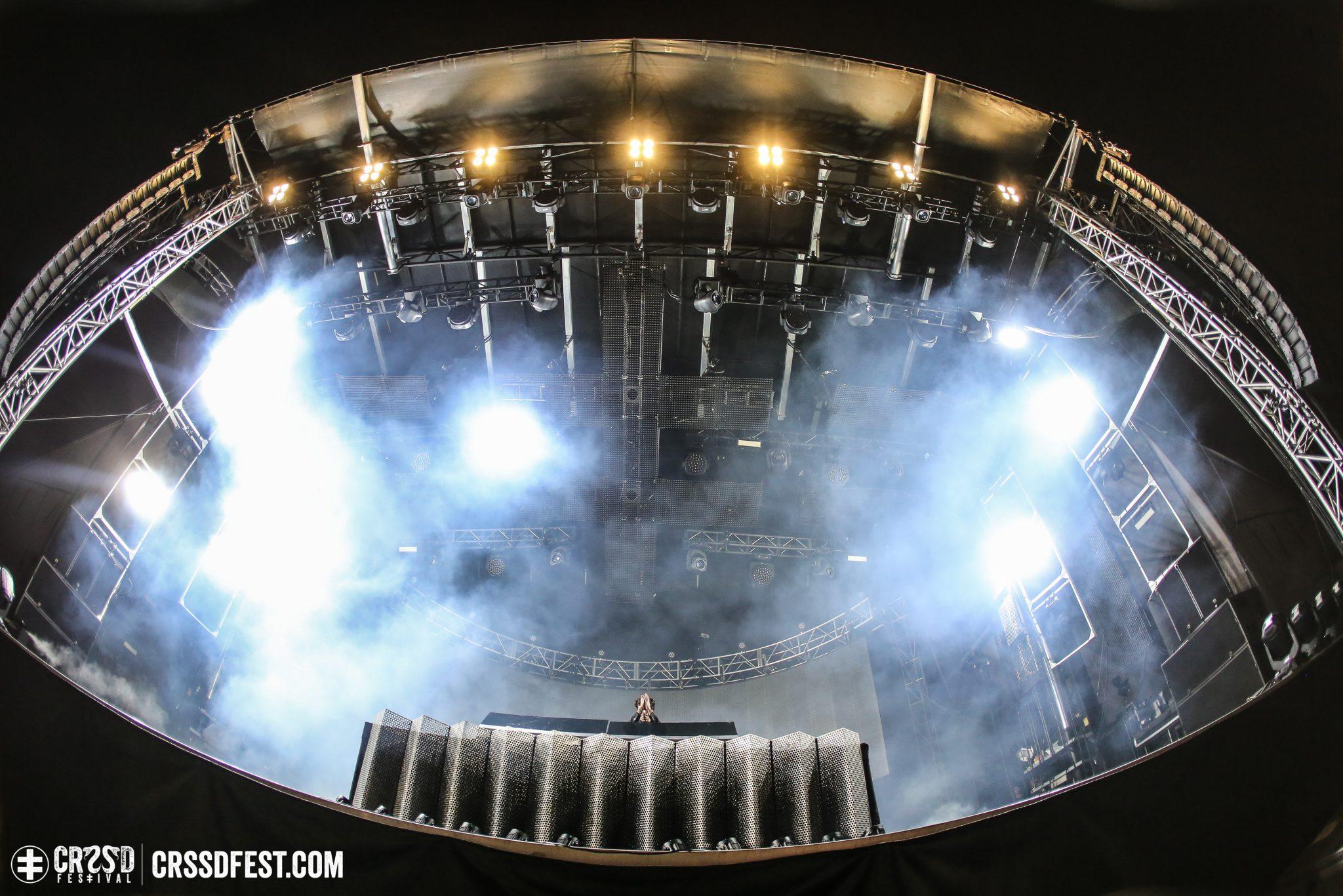 GESAFFELSTEIN DJ Set at the Ocean View Stage - Photo by Felicia Garcia