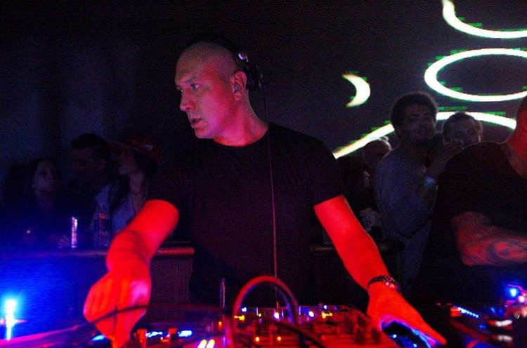 Marco Carola marathon set on the Terrace. Picture by Club Space Miami