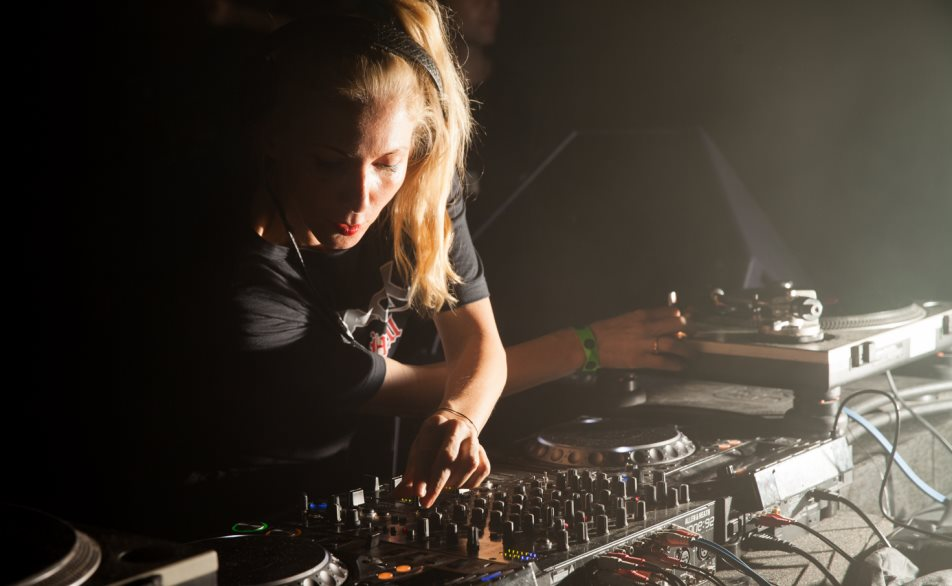 Ellen Allien. Photo by Gaetan Tracqui