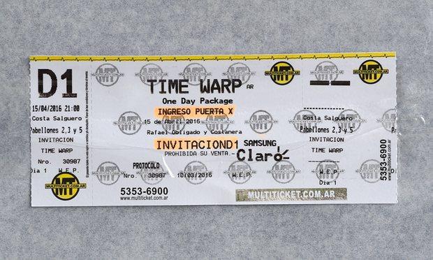 TimeWarpARTicket