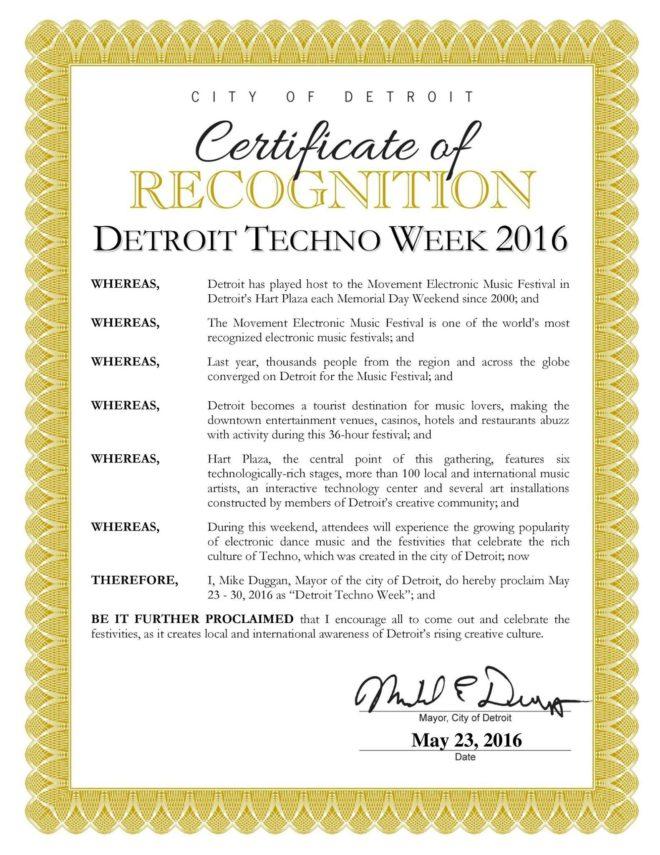 Detroit Techno Week