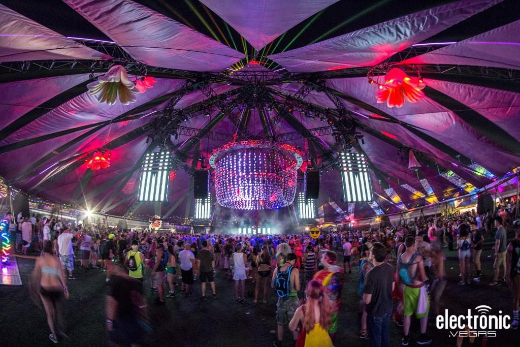 EDC Las Vegas Used A Series Of Radio Mixes To Announce Lineup - Edc las vegas map 2016