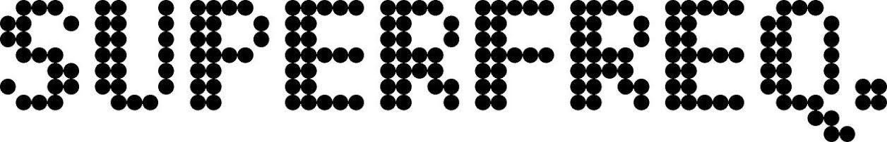 Superfreq Logo - Black on White