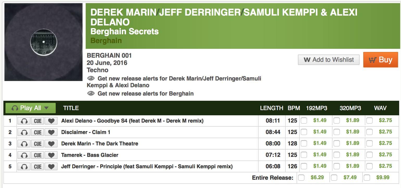 Berghain Secrets Juno
