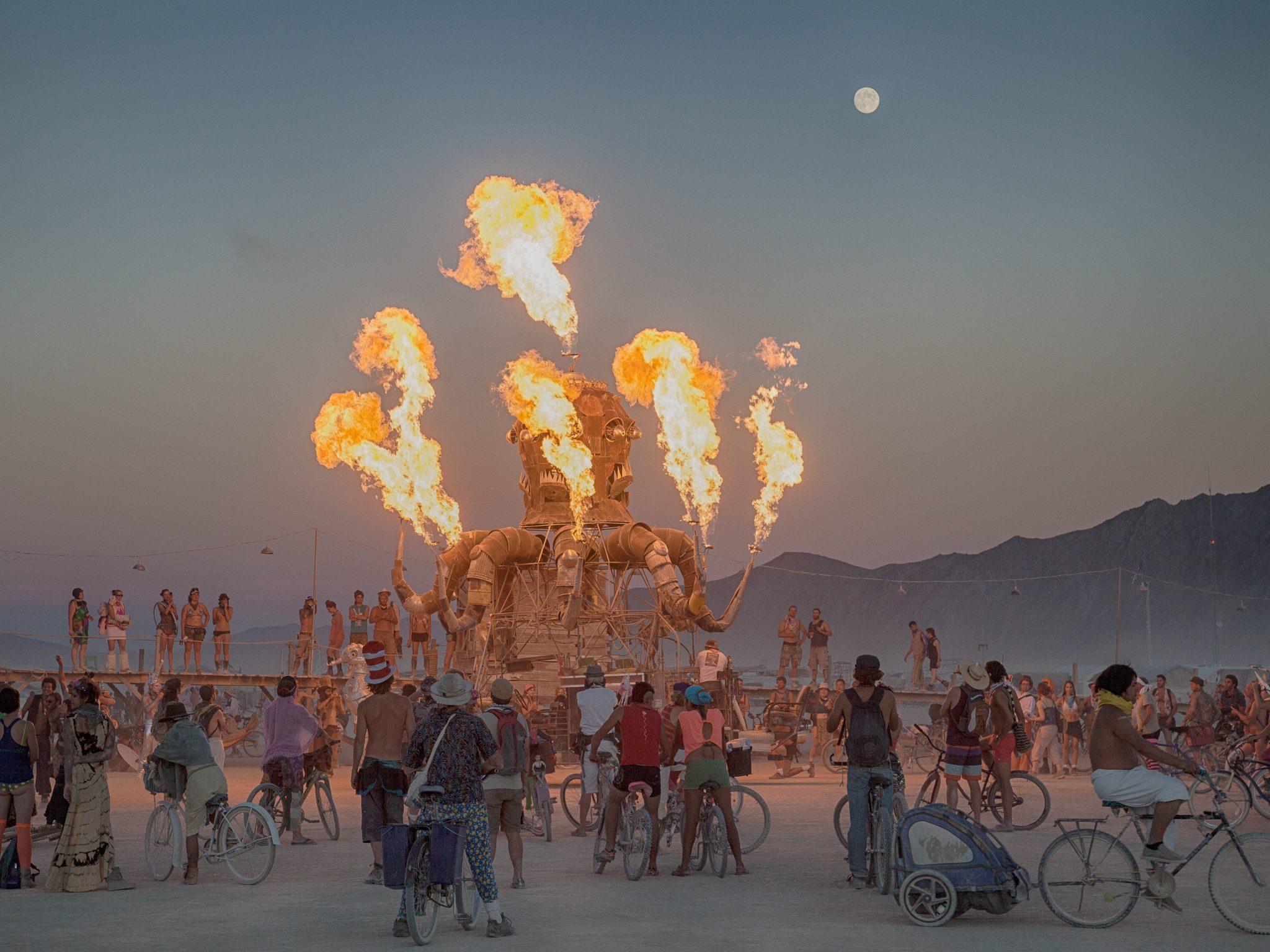 Burning Man - Wikipedia The burning man festival photos