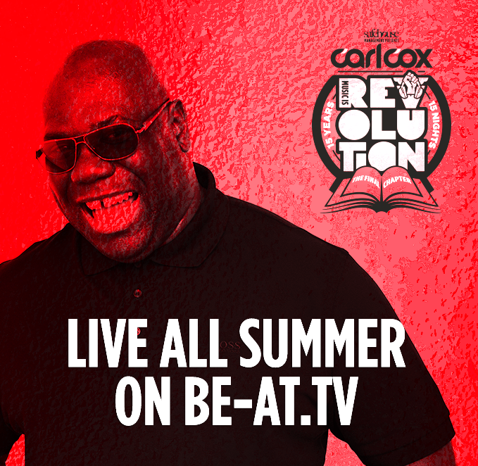 CarlCox Be At TV