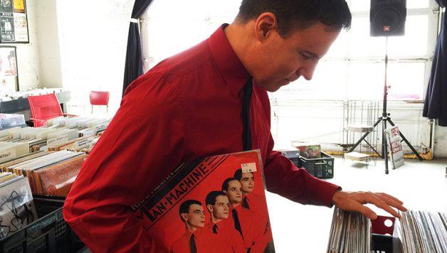 Kraftwerk record shopping
