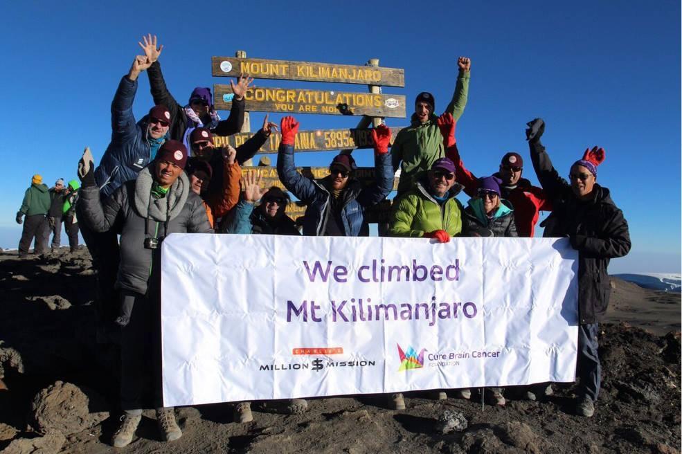 Seth Troxler Completes Kilimanjaro Climb Photo