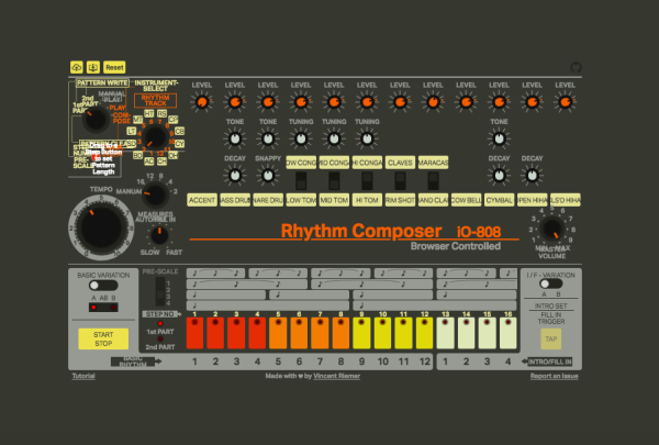 Play This Impressively Accurate In-Browser TR-808 Drum