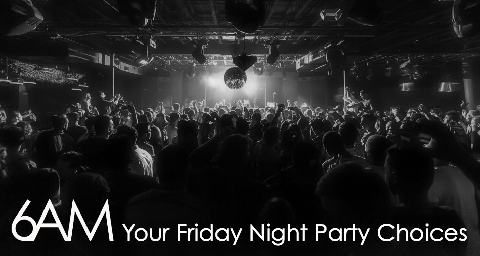 Friday Night Party Choices Banner