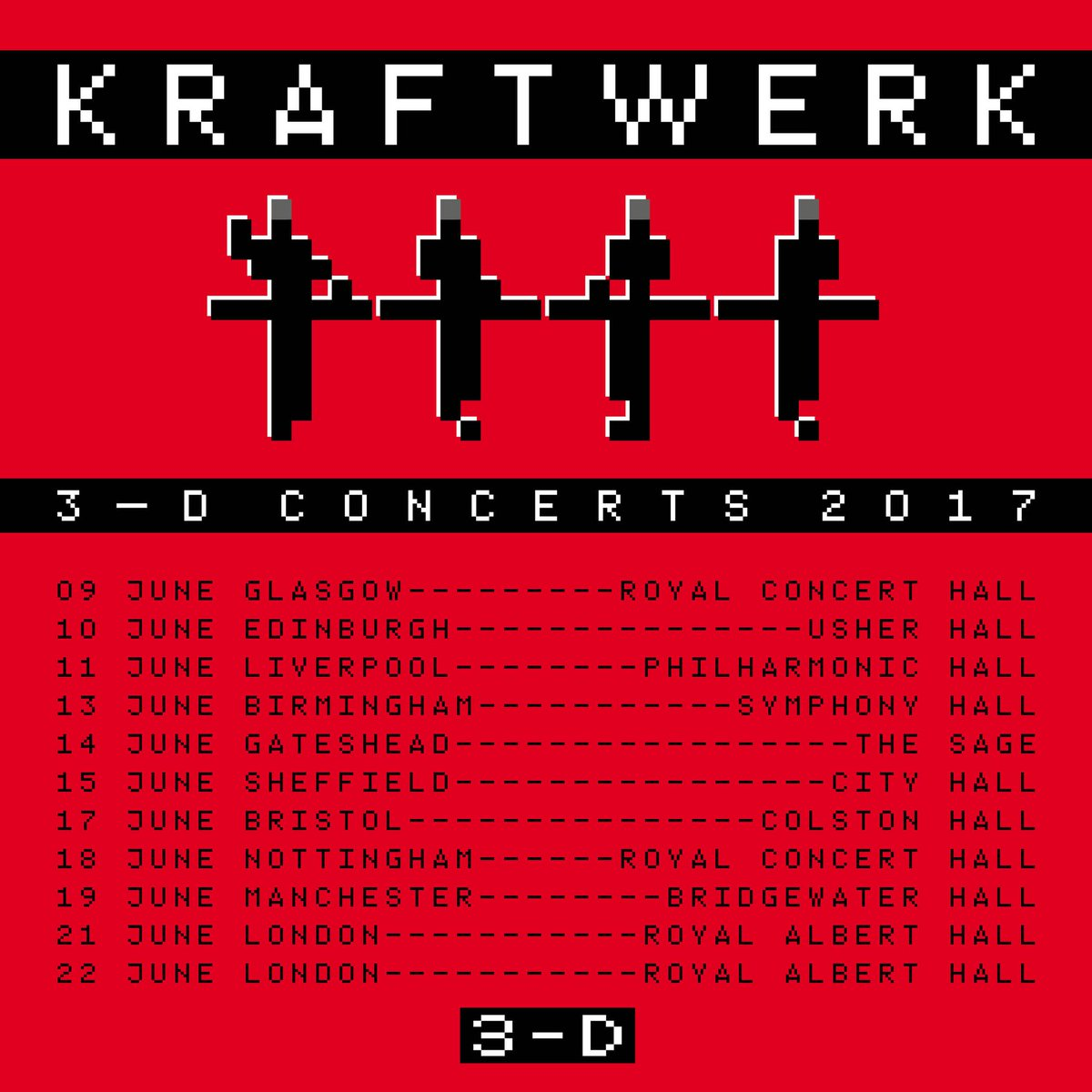 Kraftwerk Will Tour The UK For First Time in 13 Years   6AM