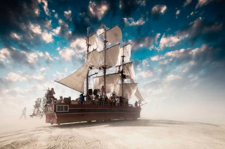 Burning Man - Victor Habchy