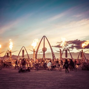 White Ocean camp at Burning Man
