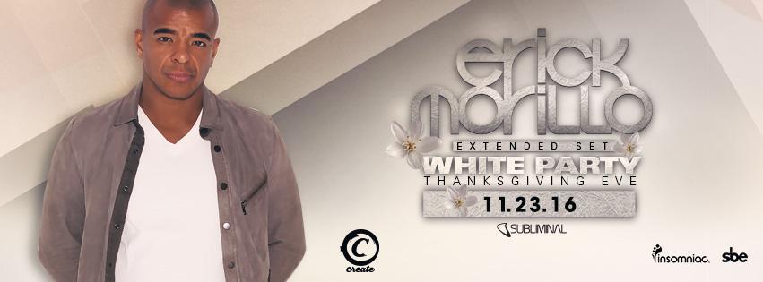 Erick Morillo banner