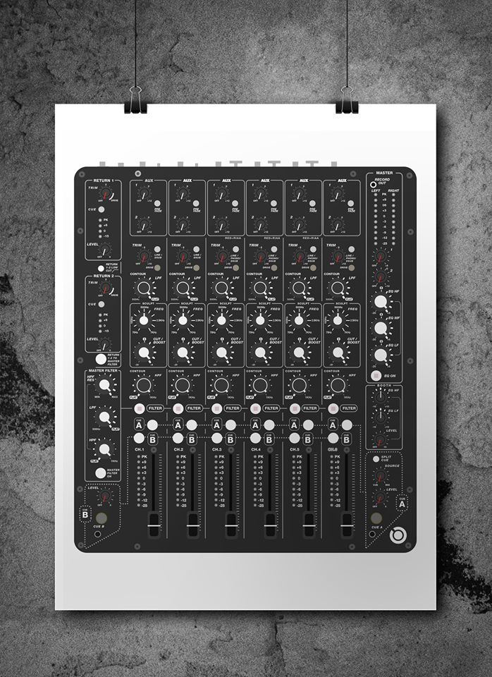 Model 1 Mixer (A2 Print)