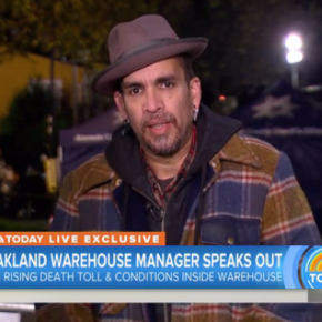 """Derick Almena, Manager of Oakland Warehouse """"Ghostship"""", Speaks Out About The Fire"""