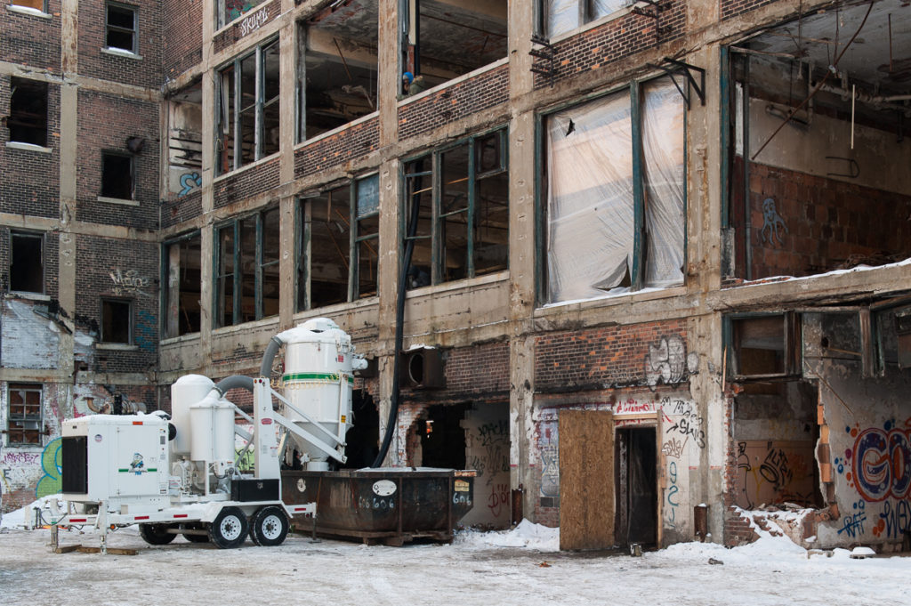 Packard Plant Outside