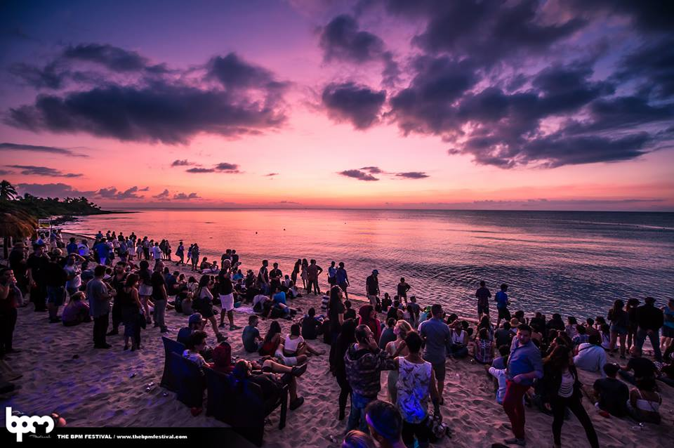 BPM Festival Sunset