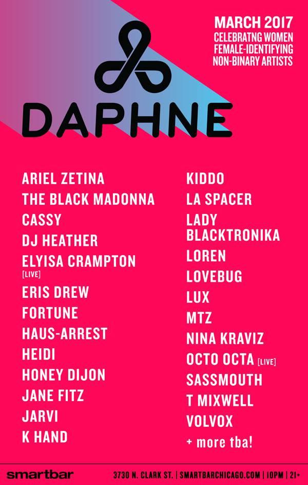 DAPHNE lineup