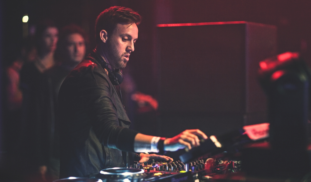 Maceo Plex playing a DJ set