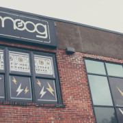 Moog factory in Asheville, NC (photo courtesy of FACT Magazine)