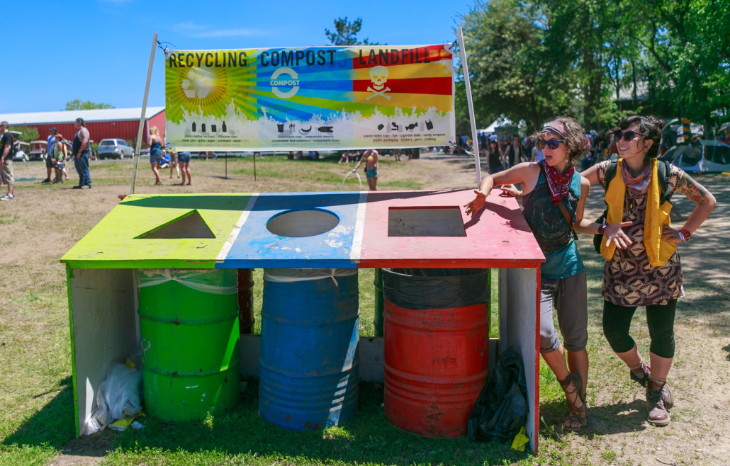 sustainable festival