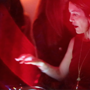 Francesca Lombardo playing at the Lincoln Speakeasy