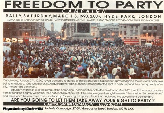 Right to Party movement