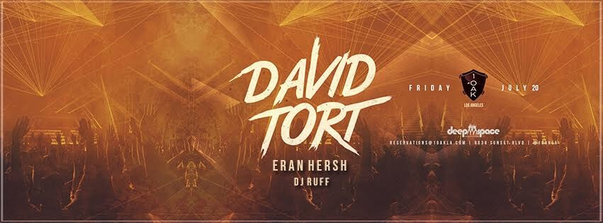deep space productions invites david tort to bring his signature