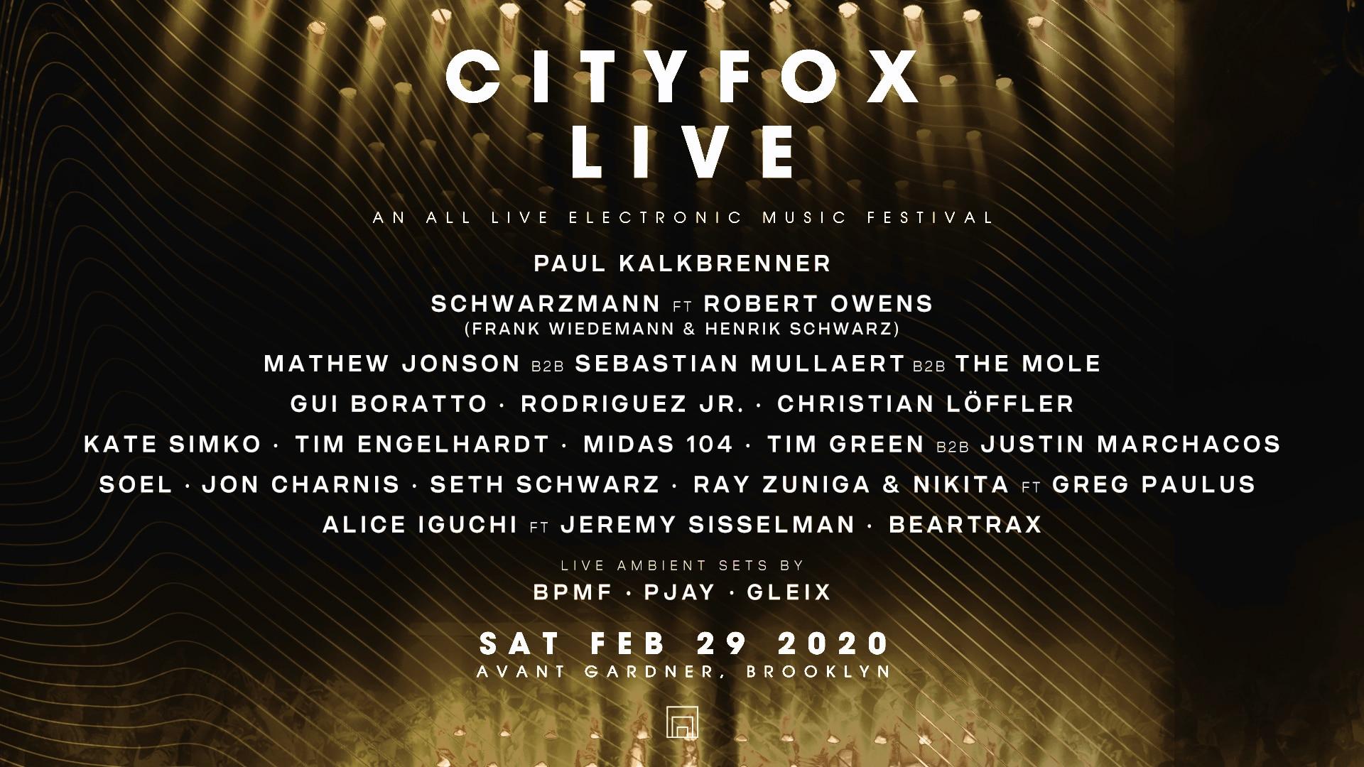 Cityfox LIVE 2020