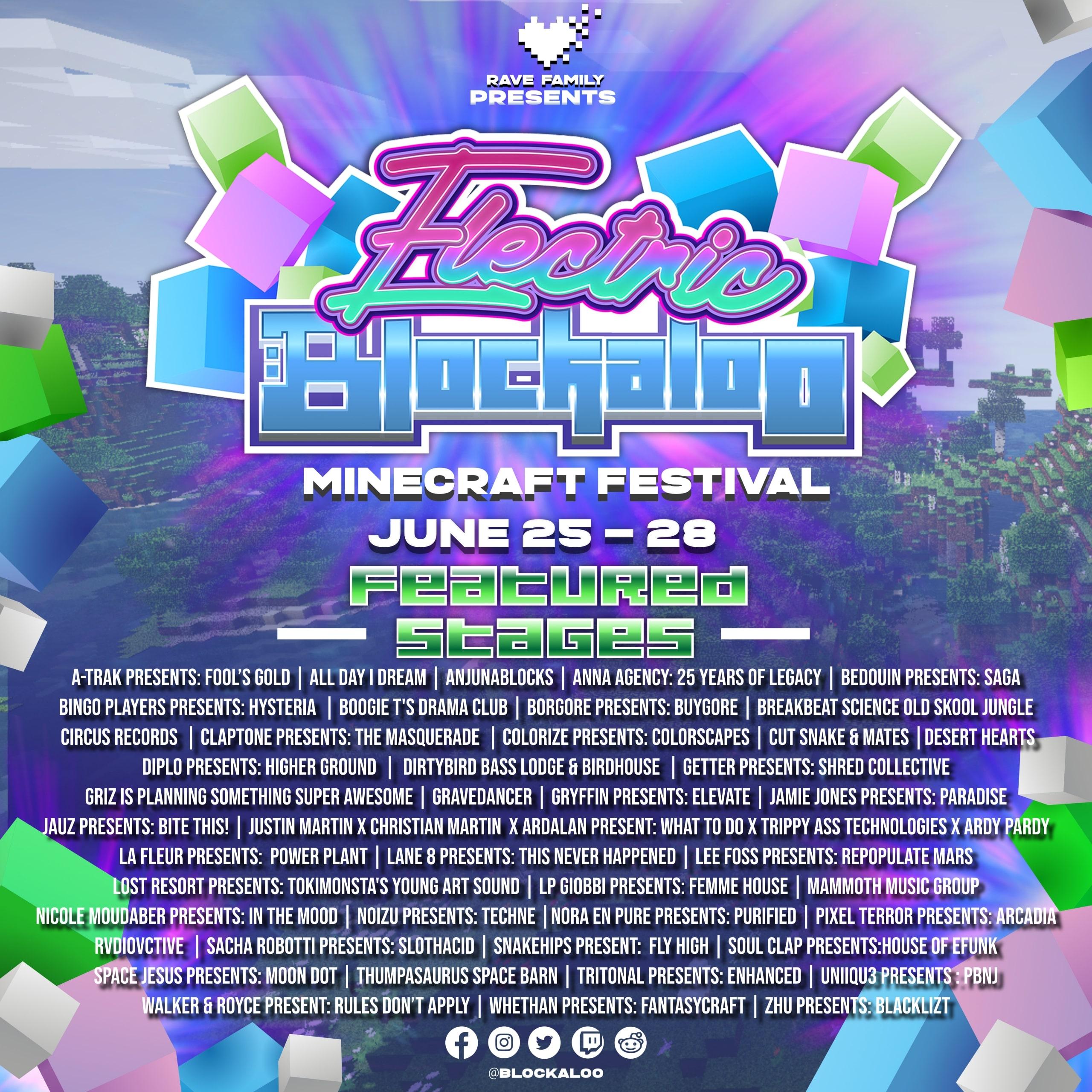 Electric Blockaloo - Minecraft Festival