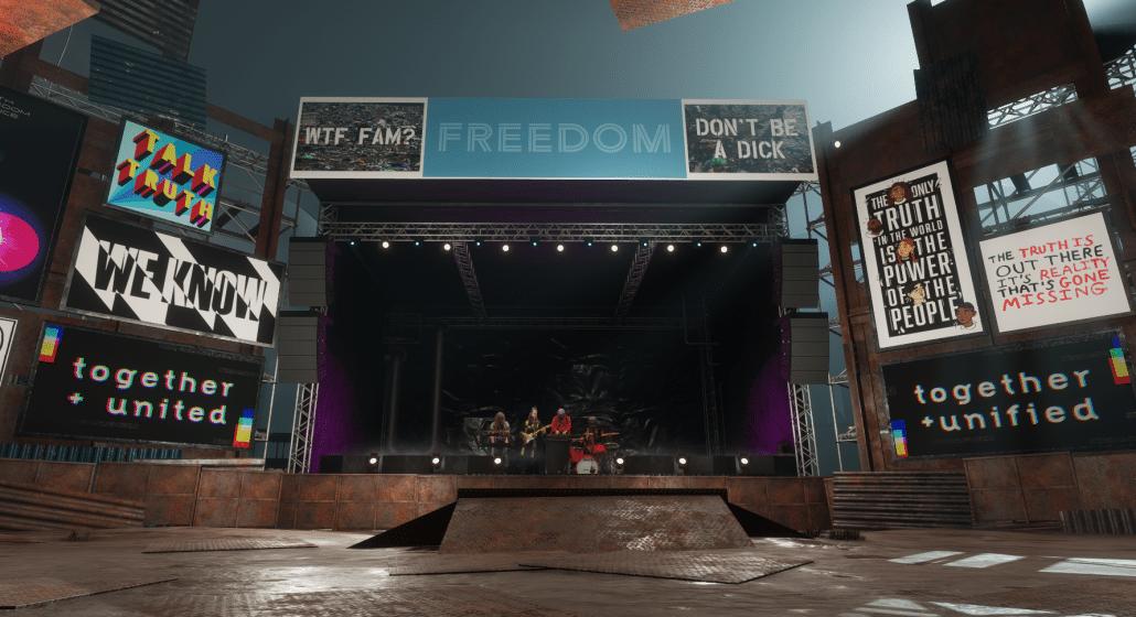 Lost Horizon Freedom Stage