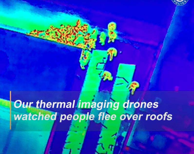 Thermal imaging nightclub